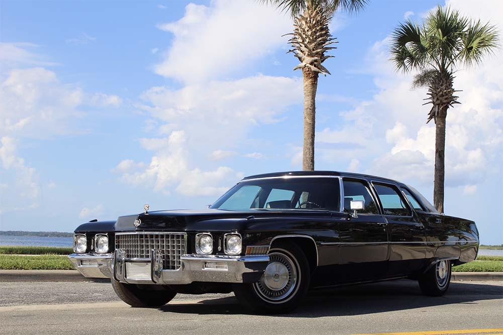 1971 Cadillac Fleetwood 75 Series Formal Limousine
