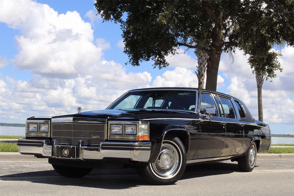 1984 Cadillac Fleetwood 75 Series Formal Limousine