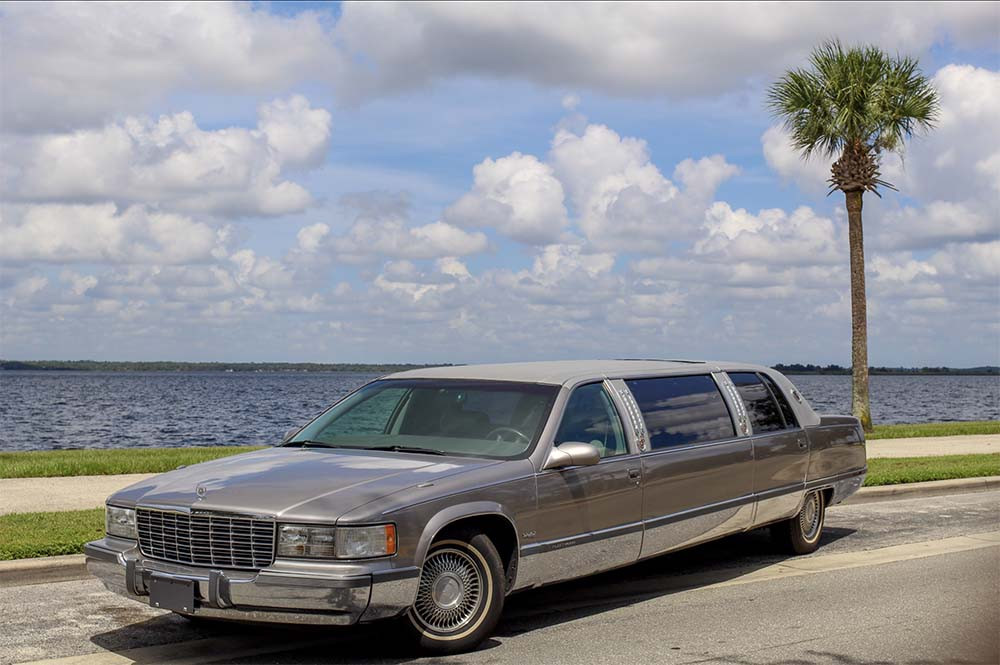 1996 Cadillac Fleetwood Stretch Limousine