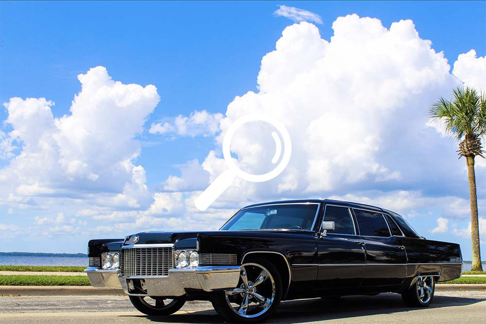 1970 Cadillac Fleetwood 75 Series Limousine