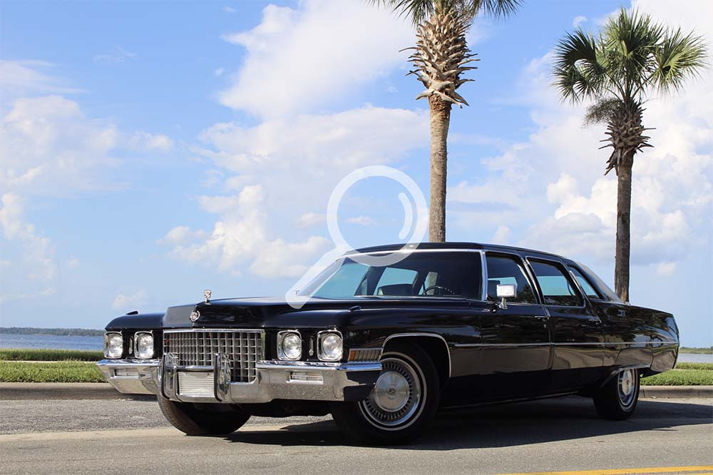 1971 Cadillac Fleetwood 75 Series Formal Limousine