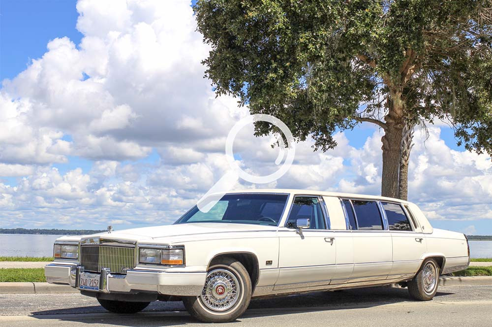1990 Cadillac Brougham Stretch Limousine
