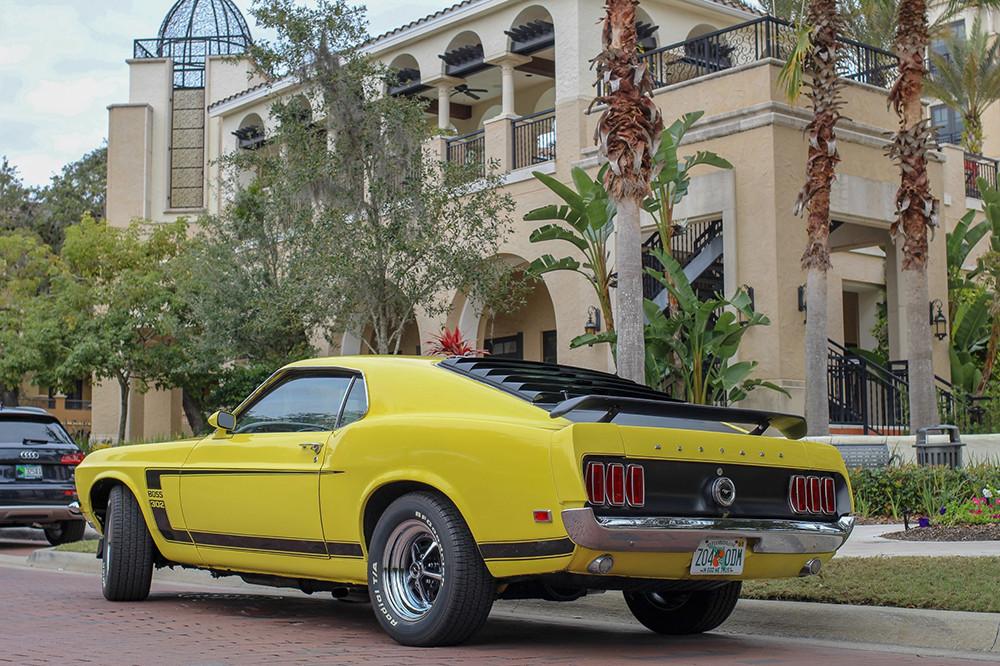 1969 Ford Mustang Genuine Boss 302 Back