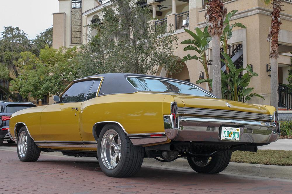 1972 Chevrolet Monte Carlo Back